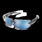 Highride Matte Black Polar Blue Mirror