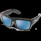 Flatline Matte Black Polar Blue Mirror